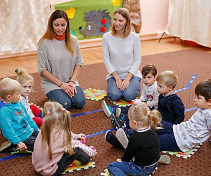 Обучающие занятия для детей от 3 до 4 лет «Познайки»