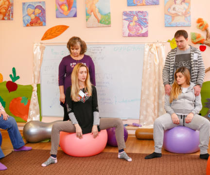 """8 февраля- Практический тренинг перед родами """"Техники помощи в родах"""""""