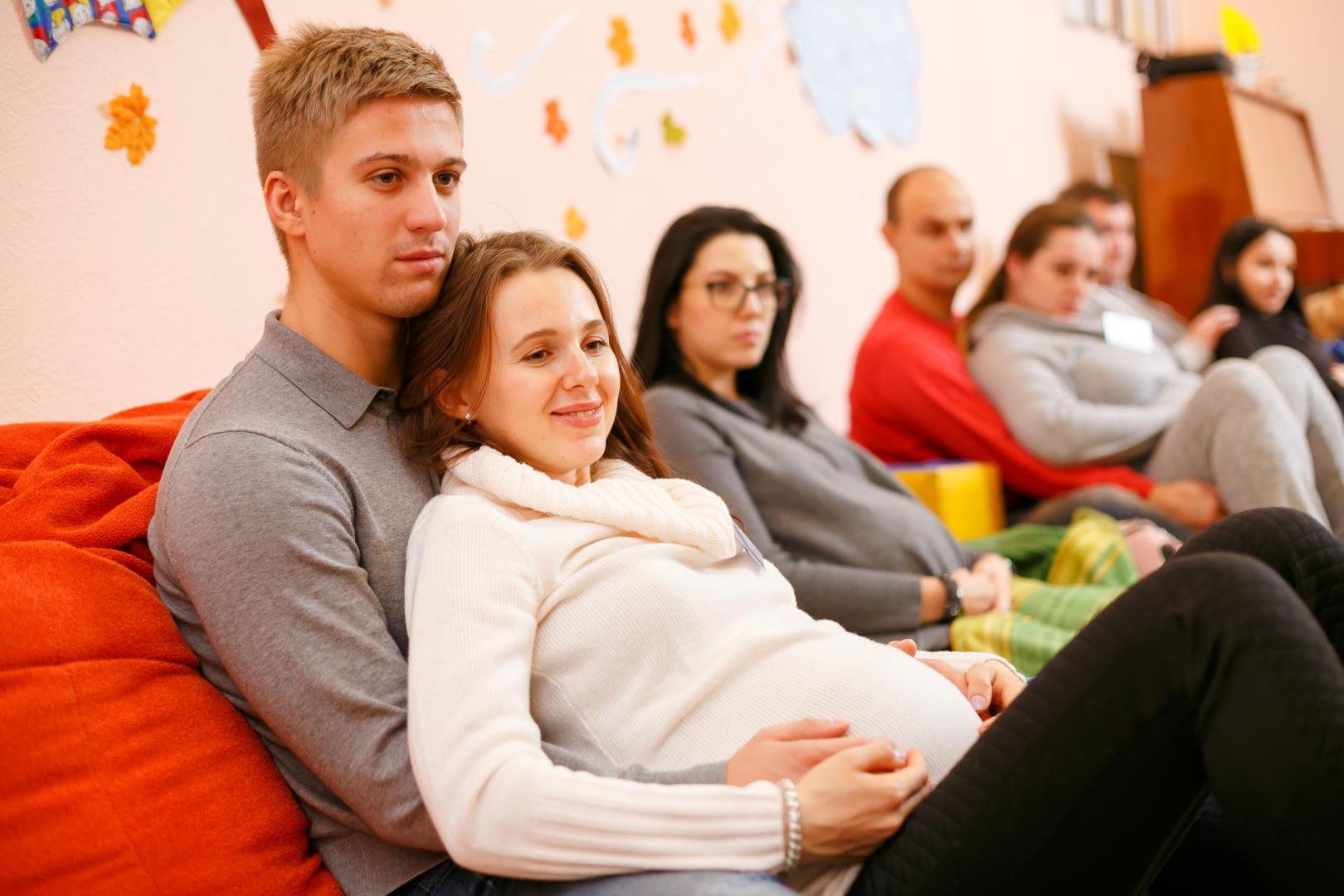 "Начало июня - Занятия для беременных - комплексный курс для пар ""Семейный"""