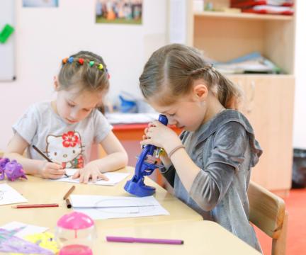 Научная лаборатория для детей от 4 до 7 лет