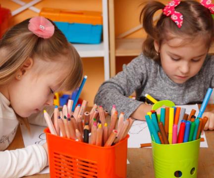 Открытие нового детского садика