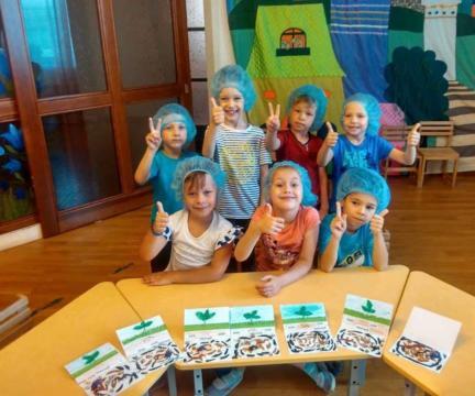 Веселая лаборатория в детском садике «Аистенок»