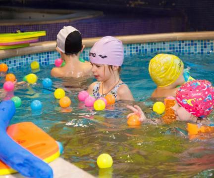 Приглашаем деток от 2,5 лет до 7 лет на занятия по обучению плаванию
