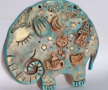 Индивидуальные занятия по ручной лепке из глины