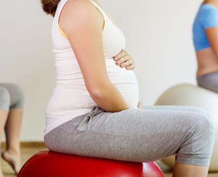 Зачем фитбол беременным?