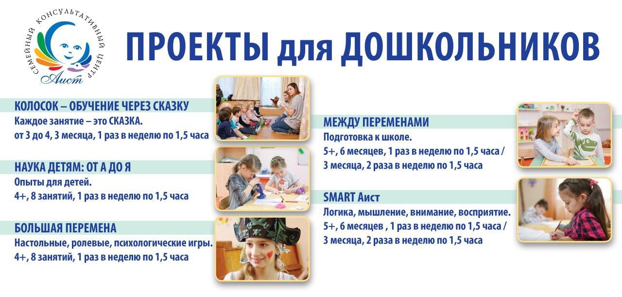 Проекты для дошкольников