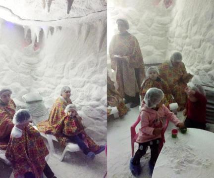 Ежегодные поездки в соляную пещеру