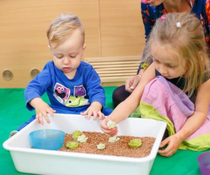Розвиваючі заняття для дітей від 2 до 4 років