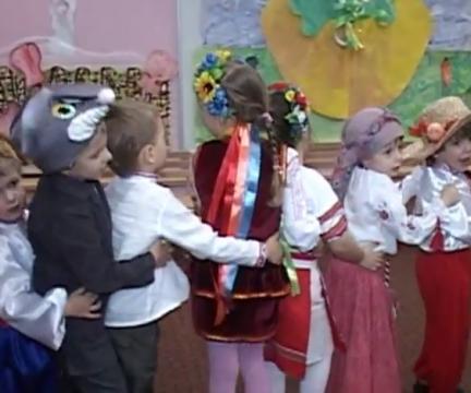 """Премьера спектакля """"Репка"""" в театральной студии """"Теремок"""" 12 декабря 2012 года"""