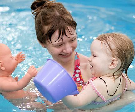 Занятия для детей в бассейне от 2-х до 6-ти лет