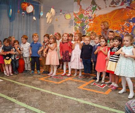 """Детский садик """"Аистенок"""" отметил свой первый День Рождения!"""